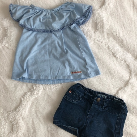 04b74c75c Hudson Jeans Matching Sets | Nordstrom Baby Girls 12 Month Outfit ...